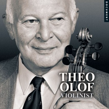 <p>CD/DVD-box Theo Olof - violinist</p>