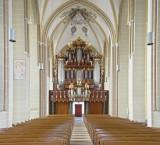 <p>Zutphen, St.-Walburgiskerk, interieur en orgel. Foto: Jan Hof</p>