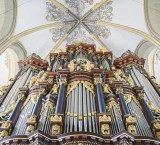 <p>Zutphen, St.-Walburgiskerk, Henrick Bader-orgel (detail). Foto: Jan Hof</p>